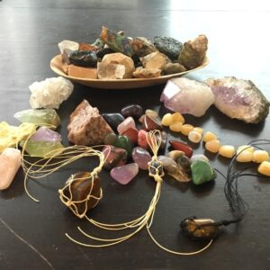 Edelstenen, mineralen en natuursteen